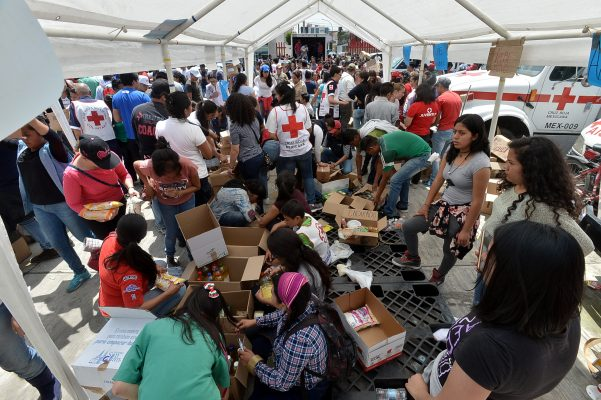 Inicia campaña de donación de víveres, medicamentos y otros artículos