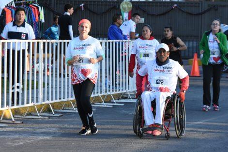 Las personas con discapacidad participaron de manera entusiasta. (Foto: Daniel Camacho)