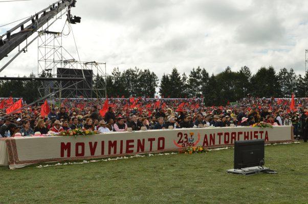 Festeja Antorcha Campesina su 23 aniversario en el valle de Toluca