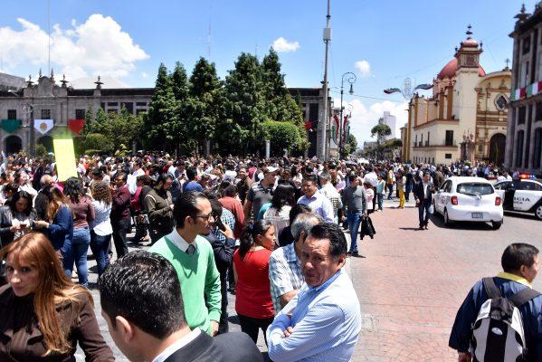 Apoya Ayuntamiento de Toluca propuesta de Alerta Sísmica en Edomex