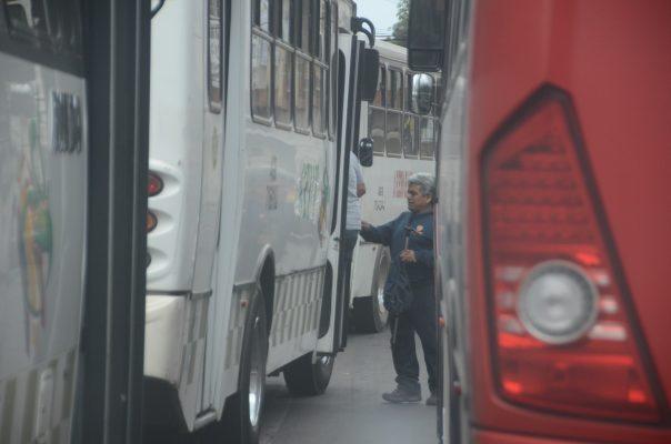 Buscarán mantener ordenado el transporte público en Toluca