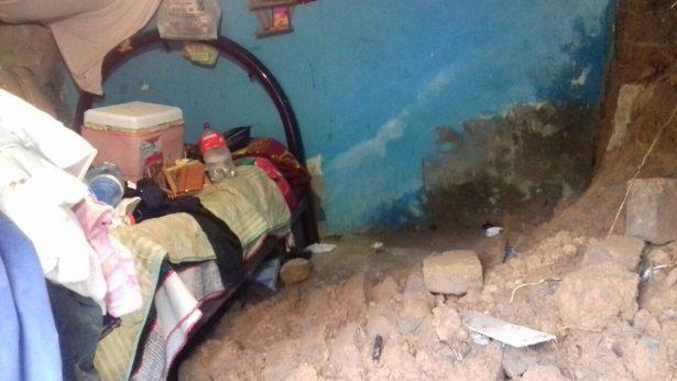 Se desploma casa en Temascaltepec
