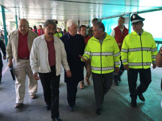 Supervisan especialistas inmueblesposiblemente dañados por el sismo en Toluca