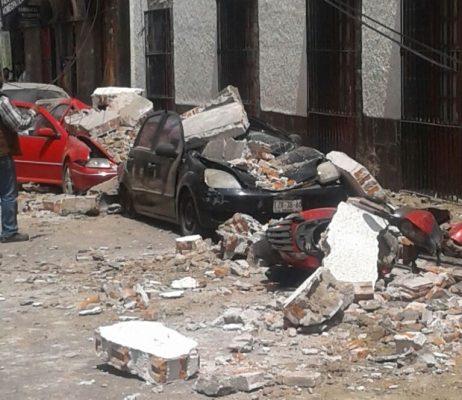 Luto en Edomex tras sismo; 12 fallecimientos y 34 personas lesionadas