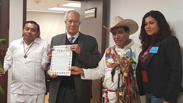 Piden indígenas presupuesto para 2018 ejercido por ellos