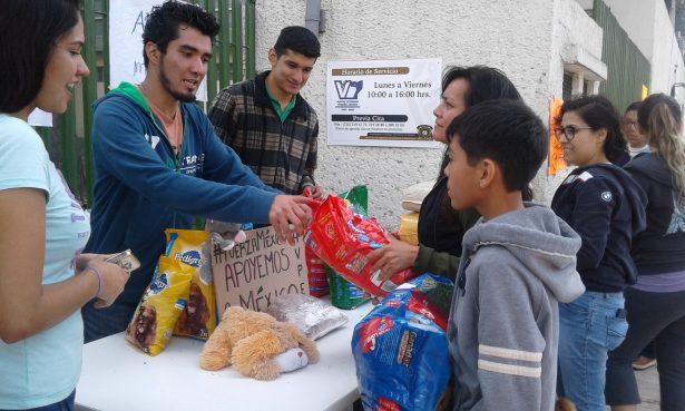 Concluye campaña universitaria de apoyo a mascotas tras el sismo