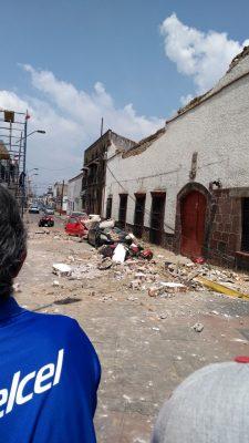 Tras sismos, niños viven un escenario dramático y de miedo