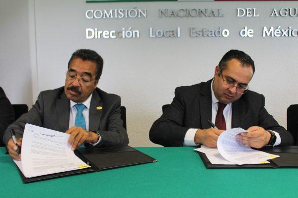 Firman convenio CMIC y Conagua en materia de capacitación