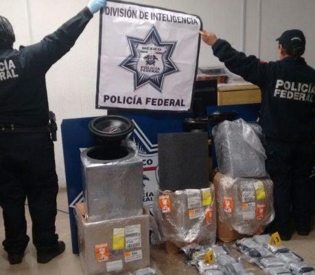 Aseguran marihuana en el Aeropuerto de Toluca