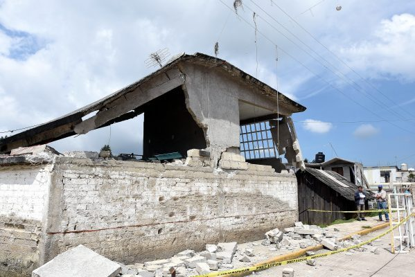 En Ocuilan se deben reconstruir mil 300 viviendas: requiere 175 mdp