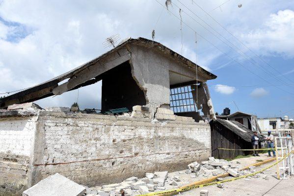 Termina en Ocuilan el levantamiento del padrón de daños por sismo