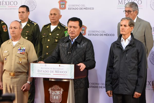 Llevan a cabo gobiernos federal y estatal primera reunión en materia de seguridad