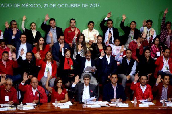 Aprueba PRI mexiquense concertar coaliciones para comicios del 2018