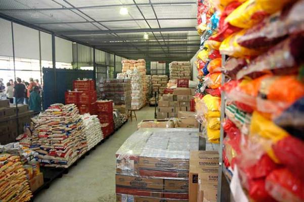 Dispone Banco de Alimentos con 60 toneladas de productos para apoyar a damnificados