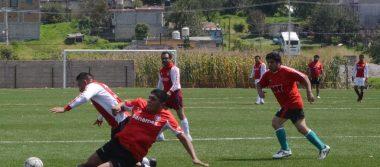 Realizan amistosos en Liga de Santiago Tlaxomulco, rumbo al Torneo de Primera Fuerza