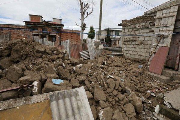 Inicia etapa de reconstrucción de viviendas dañadas en Toluca
