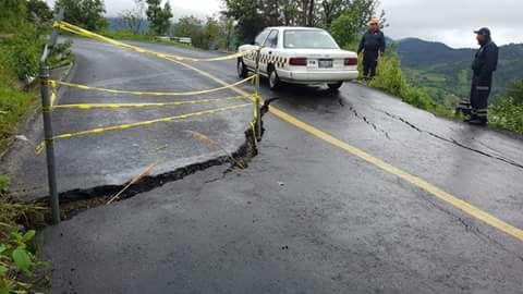 Registra avance del 70% reparación de vías de comunicación afectadas por sismo