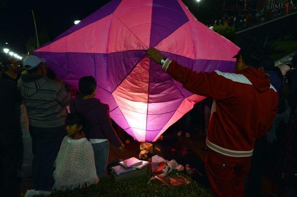 Realizan tercera edición del Festival de Luz Ocuilan 2017