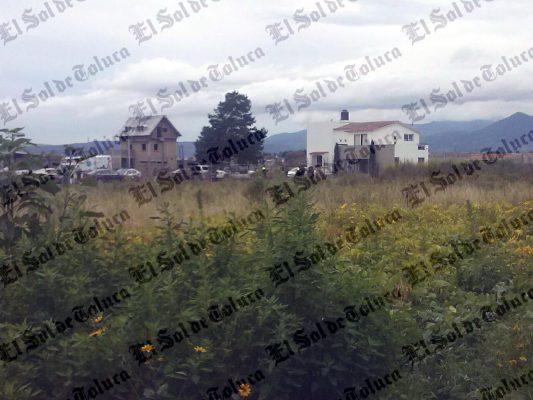Encuentran cadáveres de dos mujeres en Calimaya
