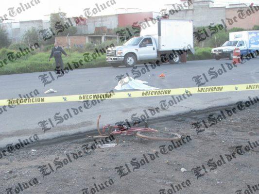 Hombre de la tercera edad pierde la vida tras ser embestido en Cacalomacan