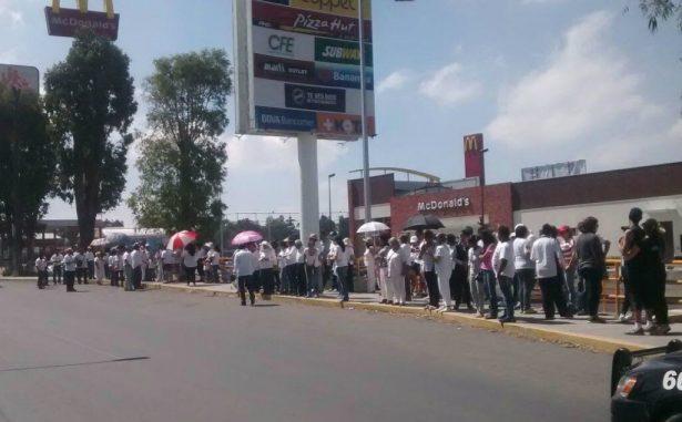 Marchan por la paz vecinos de Tecámac