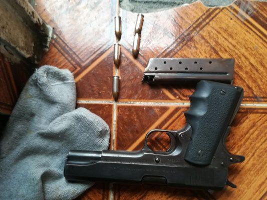 Aseguran droga y armas en Naucalpan