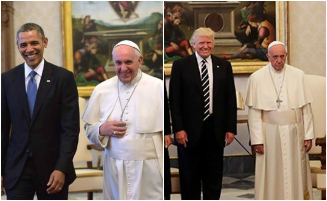 Trump vs Obama suman otro capítulo ¿Quién es el preferido del papa?