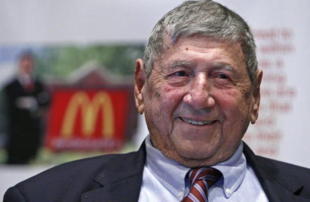 """Fallece a los 98 años creador de la """"Big Mac"""" de McDonald's"""