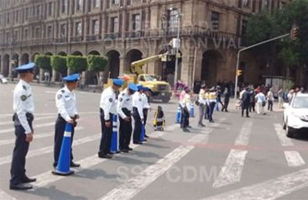 Diversas actividades complicarán hoy el tránsito en la capital