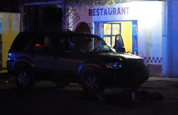 Comando asesina a 4 mujeres en restaurante de Zacatecas