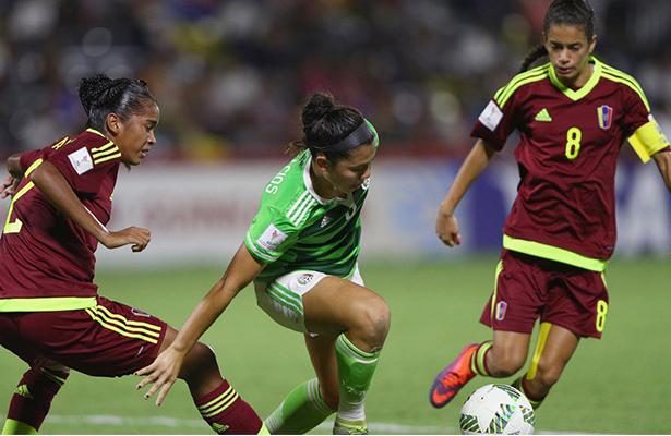 Tri femenil sub 20 vence 3-2 a Venezuela y avanza a cuartos de final