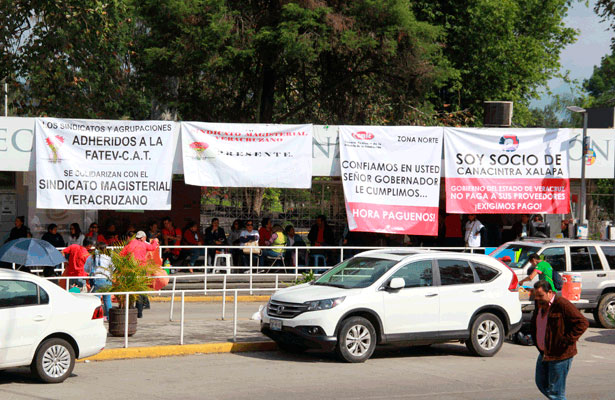 Empresarios de Veracruz extienden amenazas si no hay solución a demandas