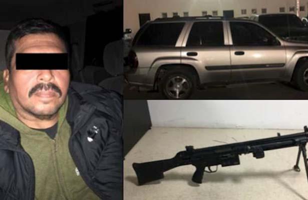 """Detienen a """"El Águila"""" operador del cartel de Sinaloa"""