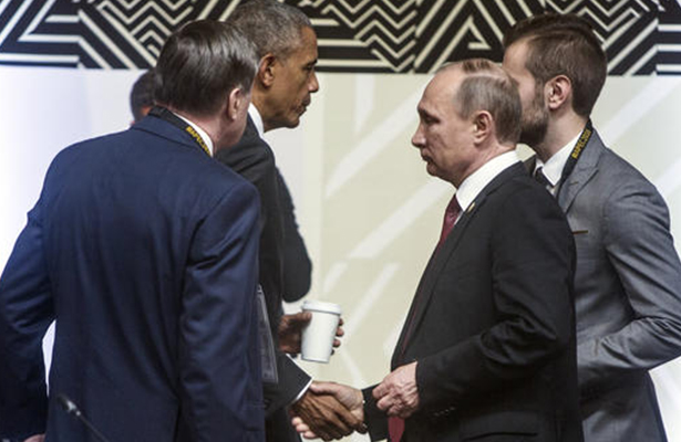 Barack Obama y Vladimir Putin dialogan en Perú sobre Ucrania y Siria