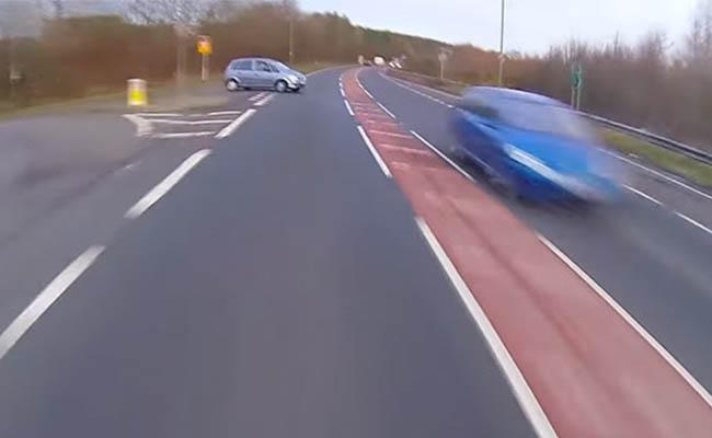 Mujer revela video del choque donde muere su novio para concientizar a conductores