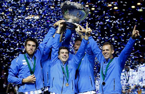 Argentina gana la Copa Davis por primera vez en su historia