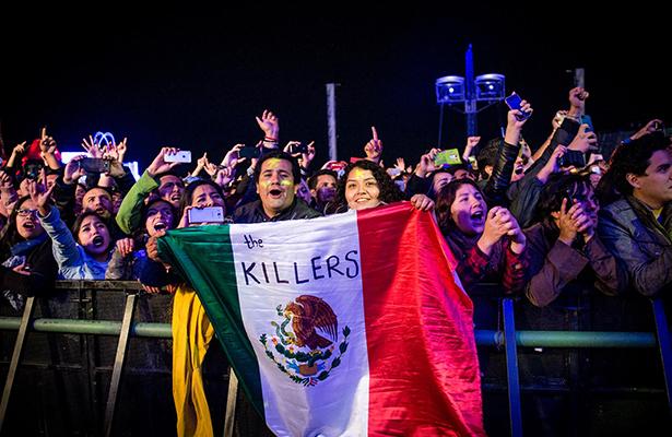 No importa quién es nuestro presidente: The Killers
