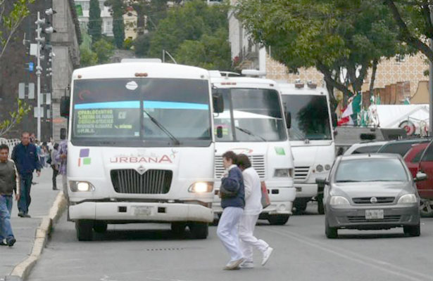 Propondrán reestructuración y ordenamiento del transporte público