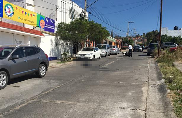 Ladrones se enfrentan a la policía en Morelia