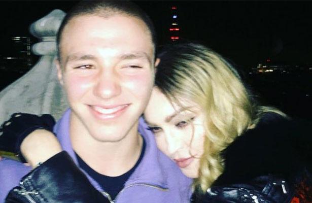 Madonna manifiesta apoyo a su hijo tras arresto por posesión de drogas