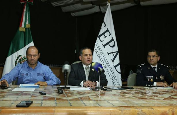 Detienen a tres funcionarios de Duarte por delitos electorales