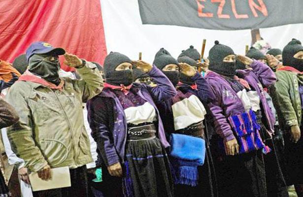 EZLN niega que participará en elecciones presidenciales de 2018