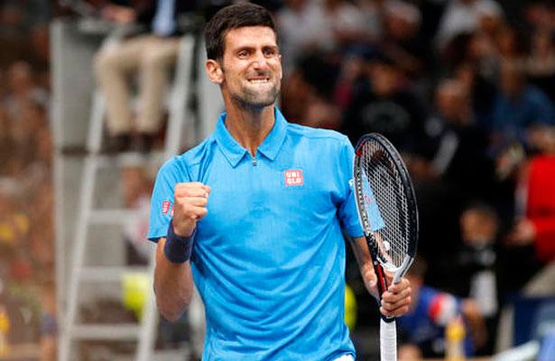 Novak Djokovic continúa intratable en la Copa Masters