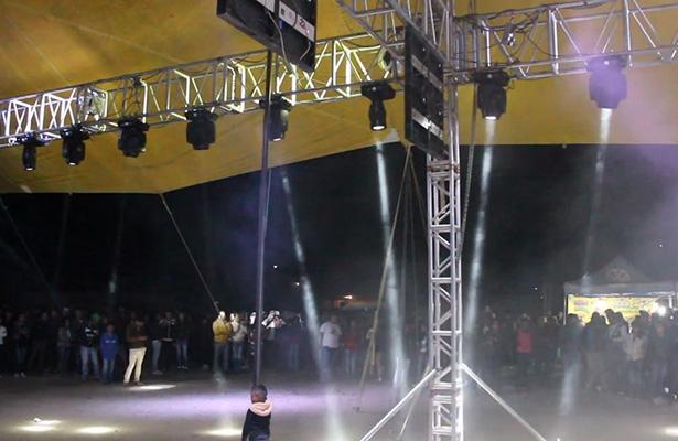 Baile se convierte en balacera en Puebla