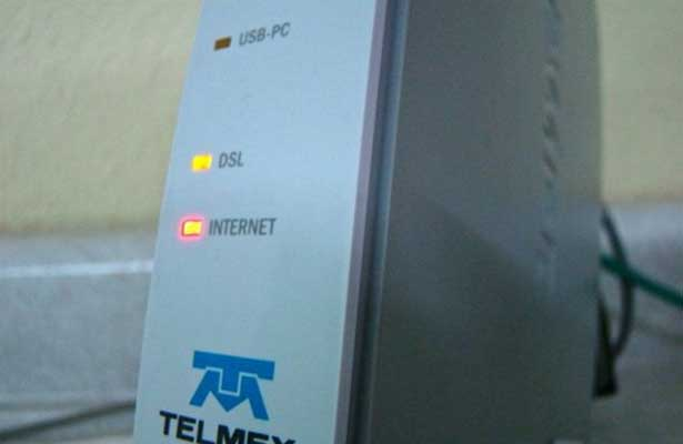 Suman 3 horas sin red Infinitum de Telmex