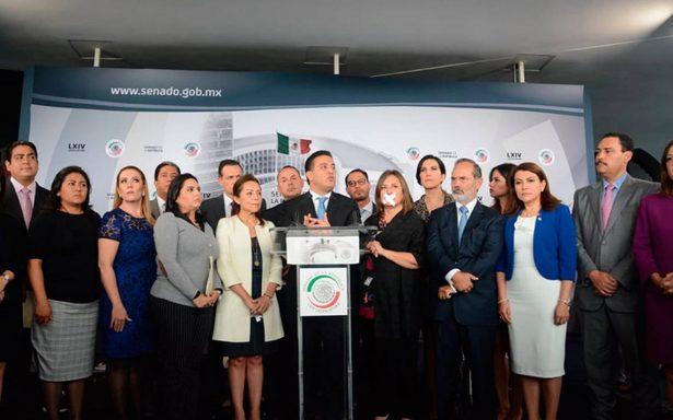 Senadores del PAN se amordazan: Mesa Directiva reduce tiempos de intervención