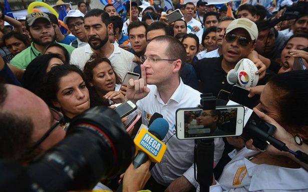 Desmiente Segob a Ricardo Anaya; se le da seguridad aunque no la pidió