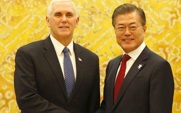 """Corea del Sur y EU aplicarán """"máxima presión"""" a Corea del Norte"""