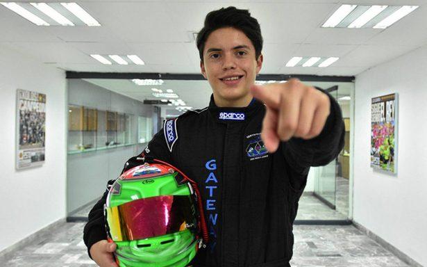 Cabrera correrá en la Fórmula 4
