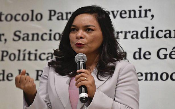 Tribus dentro del PRD, por acuerdo para quitar a Alejandra Barrales